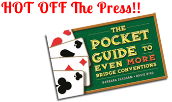 NEW BOOK - The Pocket Guide to Even More Bridge Conventions