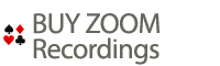 Buy Zoom Recordings